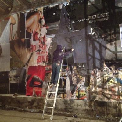 """10DICIEMBRE2012 """"Esta noche sigue tus instintos"""" es el lema de la nueva campaña de Eristoff Black. Foto: Equipo Singular."""